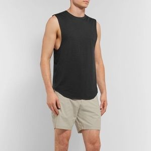 Lululemon Black Muscle T Tank Top